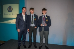 Bath Chronicle Sport Awards, Tuesday 20 November 2018   Award No 2 : Junior Team of the Year Sponsored by Stadium for Bath   presented by Tom Dunn, Bath Rugby Player  to winner  Beechen Cliff Under 15's    PHOTO:PAUL GILLIS / paulgillisphoto.com