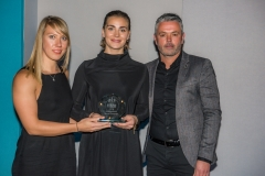 Bath Chronicle Sport Awards, Tuesday 20 November 2018  Award No 3 : Senior Team of the Year   Presented by  Jerry Gill, Manager of Bath City F.C.  to winner British Skeleton       PHOTO:PAUL GILLIS / paulgillisphoto.com