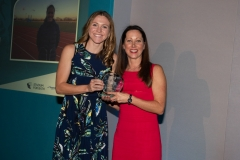 Bath Chronicle Sport Awards, Tuesday 20 November 2018  Award No 8 : Professional Sports Personality of the Year sponsored by Platinum Motor Group presented by Claire Lewin to wimmer Vicky Holland   PHOTO:PAUL GILLIS / paulgillisphoto.com